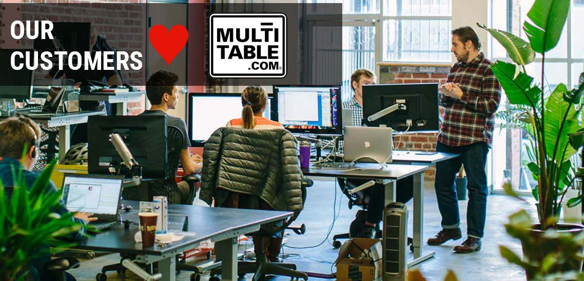 Standing Desk MultiTable Height Adjustable Sit To Stand Desk Reviews