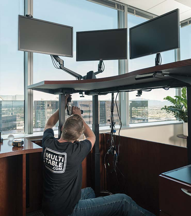 Standing Desk Affordable Conversions By MultiTable