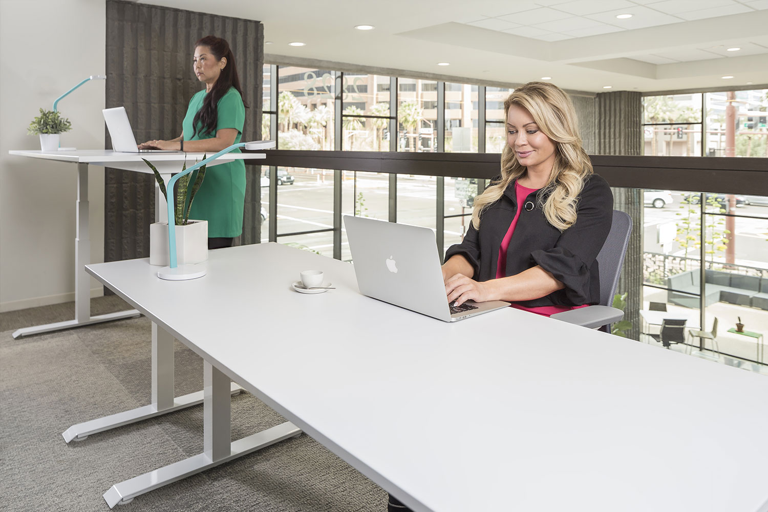 The Mod E Pro Adjustable Height Standing Desk 6